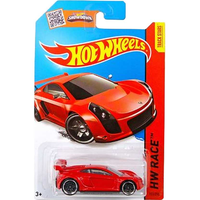 2015 Hot Wheels Mastretta MXR vermelho CFK94 series 151/250 escala 1/64