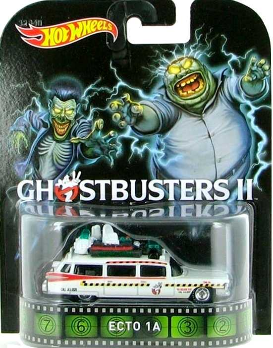 2015 Hot Wheels Retro Entertainment Ghostbusters II Ecto 1A BDT96 escala 1/64