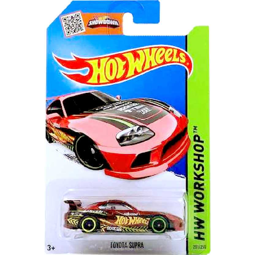 2015 Hot Wheels Super T-Hunt Treasure Hunt Toyota Supra series 201/250 CFJ41 escala 1/64