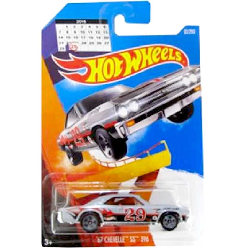 2016 Hot Wheels Ano Bissexto 67 Chevelle SS 396 series 92/250 DHX38 escala 1/64