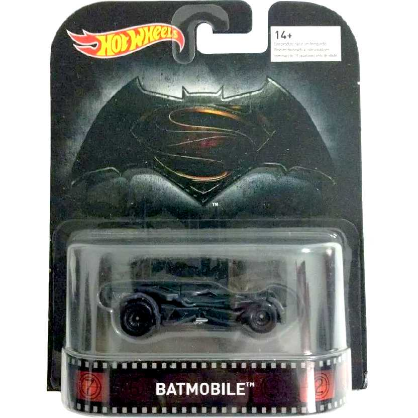 2016 Hot Wheels Retro Entertainment Batmovel DJF57 Batmobile Batman Vs Superman