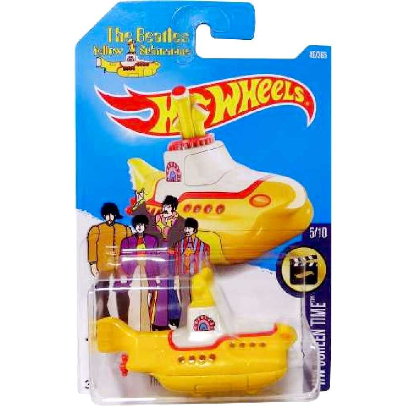2016 Hot Wheels The Beatles Yellow Submarine series 5/10 49/365 escala 1/64