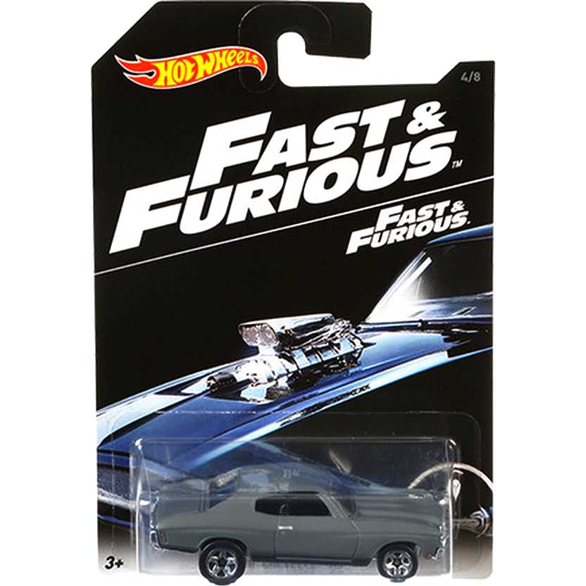 2016 Hot Wheels The Fast & Furious 70 Chevelle SS DVG77 series 4/8 ( Velozes e Furiosos )