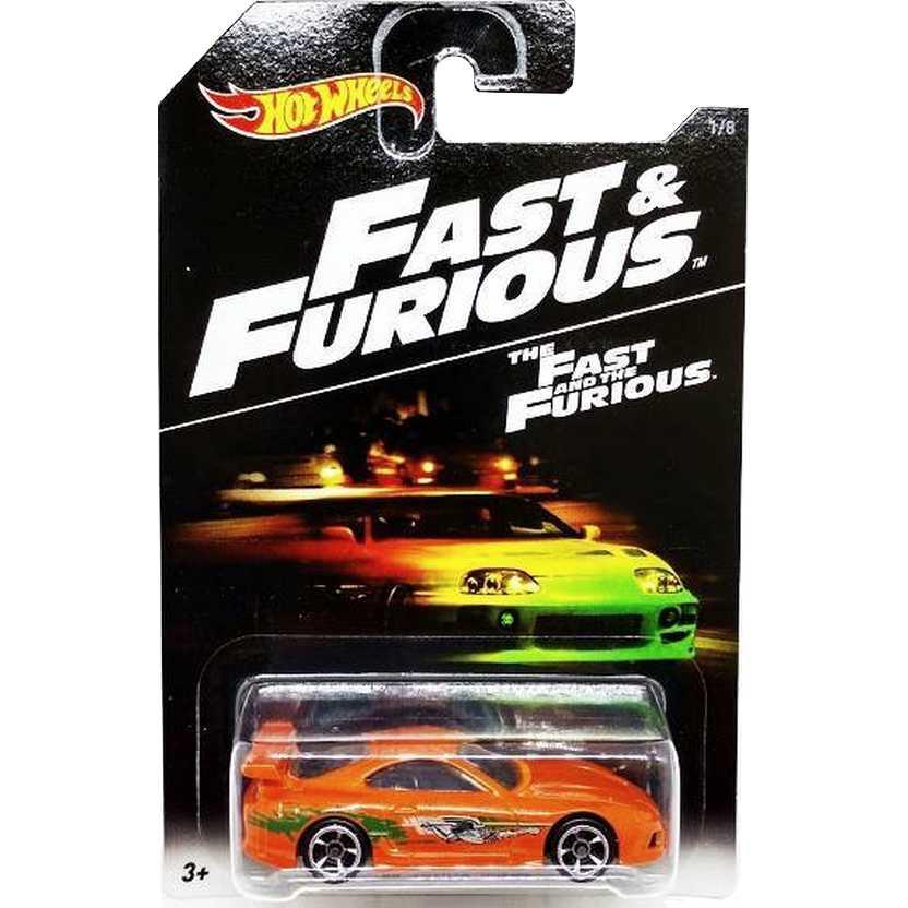 2016 Hot Wheels The Fast & Furious 94 Toyota Supra DVG75 series 1/8 ( Velozes e Furiosos )