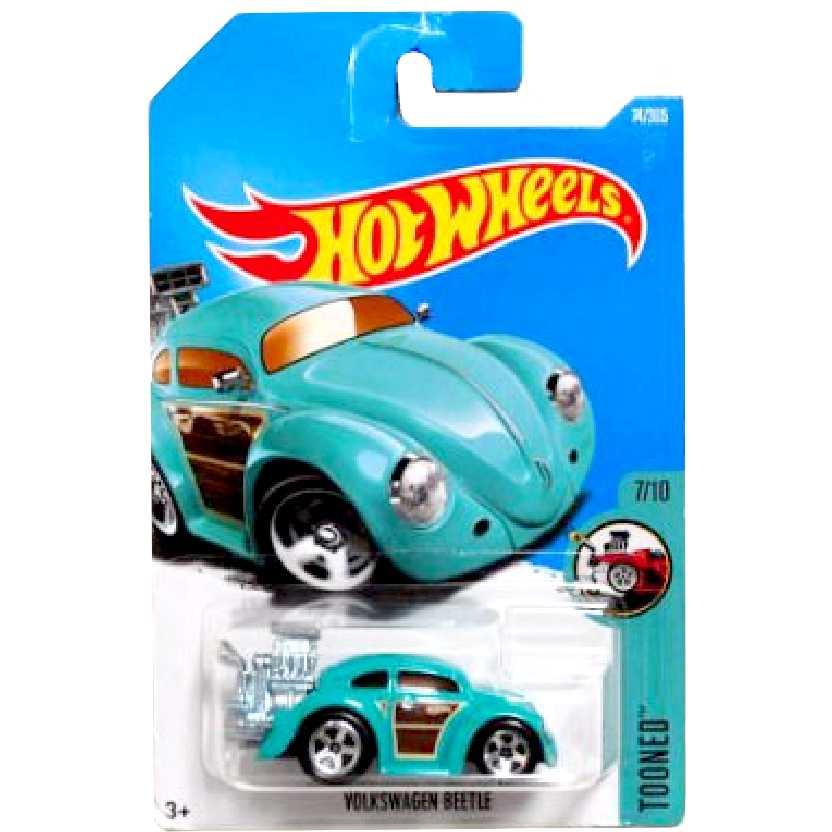 2016 Hot Wheels Volkswagen Beetle (Fusca) Tooned series 5/5 74/365 DTX50 escala 1/64