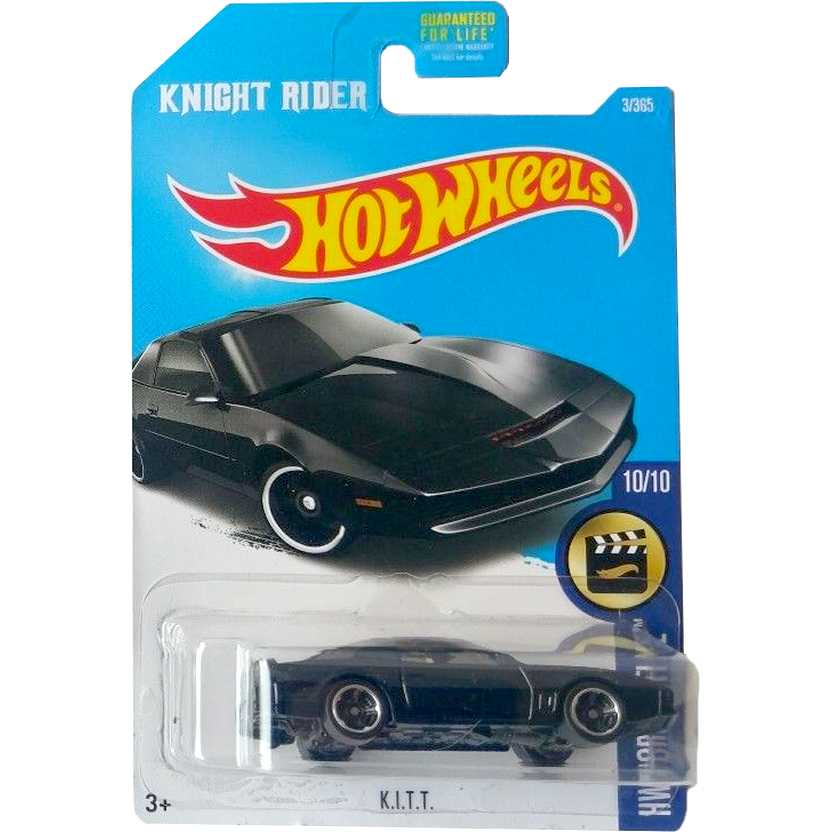 2017 Hot Wheels Knight Rider (Super Máquina) K.I.T.T. series 3/385 DTX38 escala 1/64