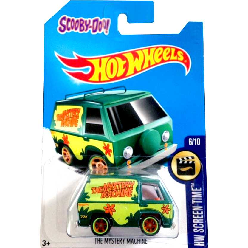 2017 Hot Wheels Super T-Hunt The Mystery Machine Van Scooby Doo! DVC84 serie 6/10