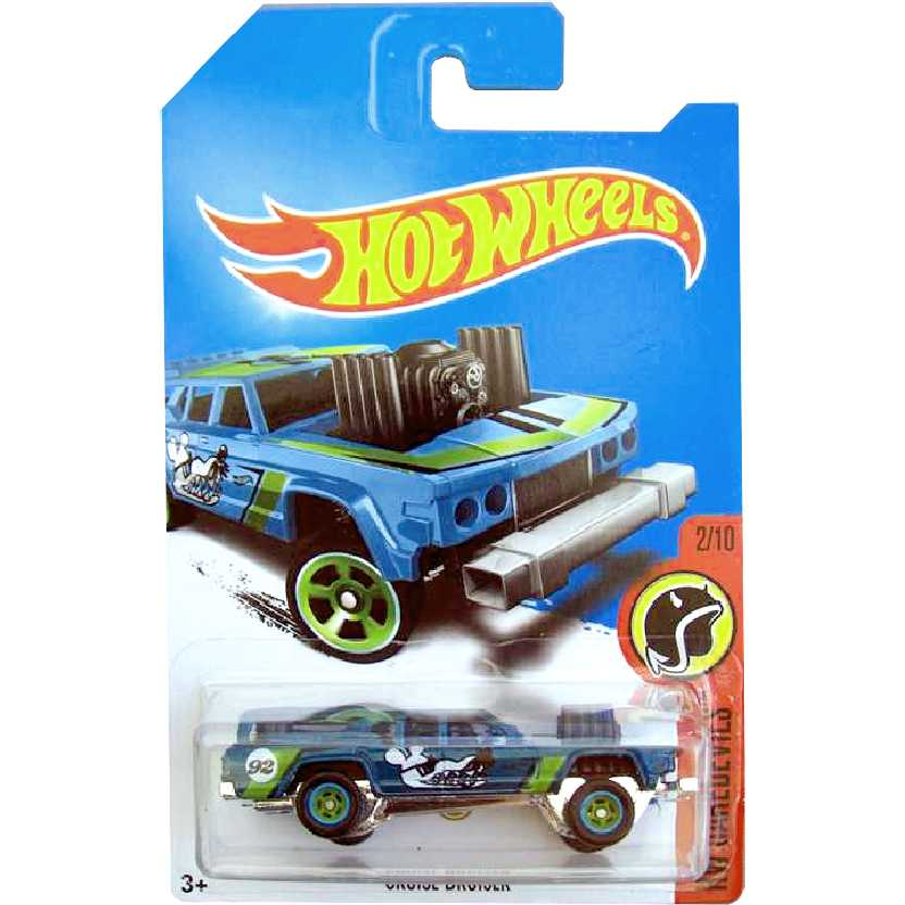 2017 Hot Wheels Super Treasure Hunt T-Hunt Superized Cruise Bruiser 2/10 DVC92 escala 1/64