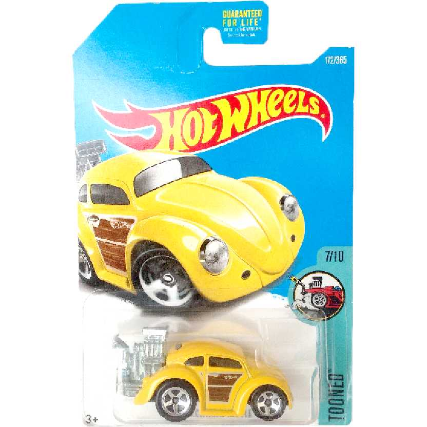 2017 Hot Wheels Volkswagen Beetle (Fusca) Tooned series 7/10 172/365 DVB38 escala 1/64