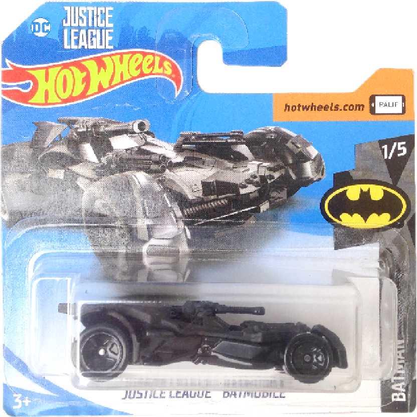 2018 Hot Wheels Batman Justice League Batmobile 1/5 1/365 FJV39 escala 1/64