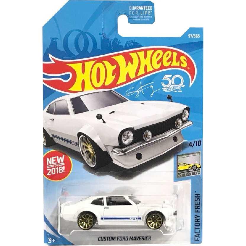 2018 Hot Wheels Custom Ford Maverick series 97/365 4/10 FJV52 escala 1/64