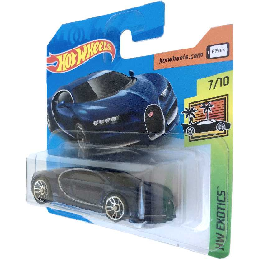 2019 Hot Wheels 16 Bugatti Chiron series 7/10 FYB49 escala 1/64