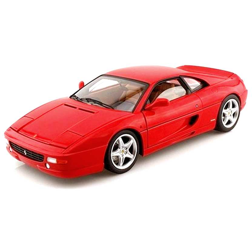Ferrari F355  Berlinetta cor vermelha (1994) BLY57 marca Hot Wheels escala 1/18