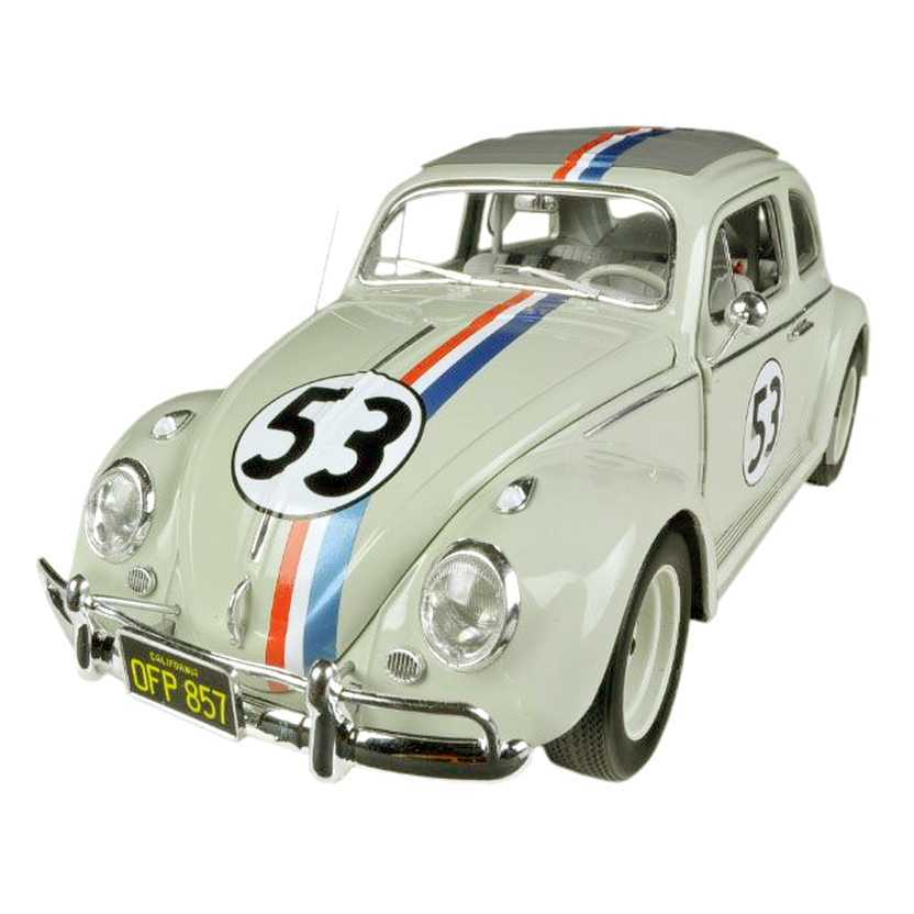 VW Beetle / Fusca Herbie - Se o Meu Fusca Falasse BCJ94 marca Hot Wheels ELITE escala 1/18