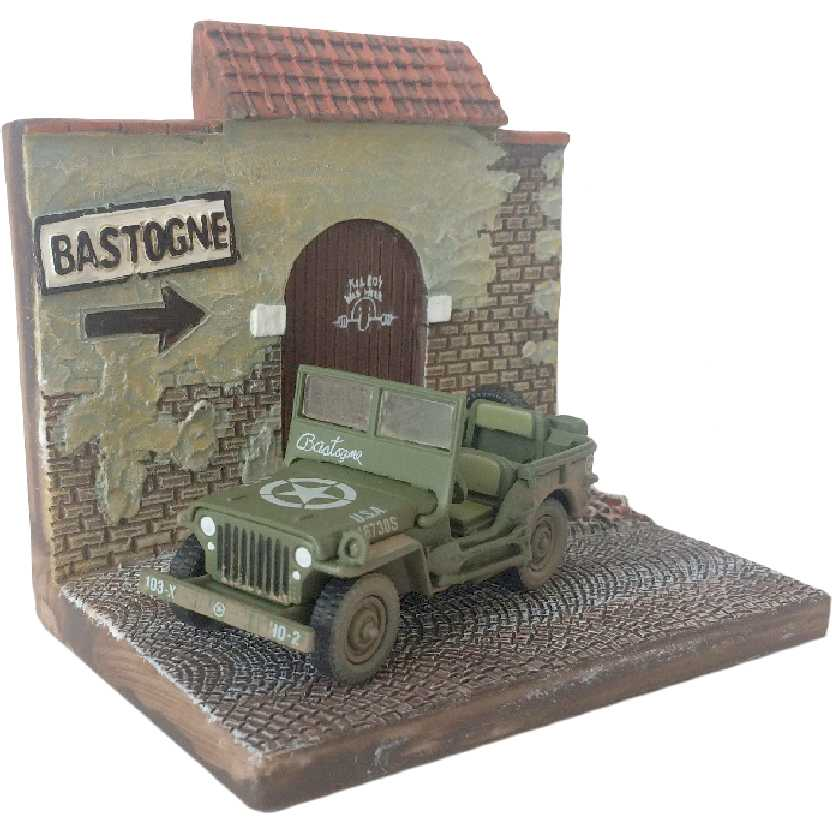 Diorama WWII Willys Jeep (The Greatest Generation) escala 1/64