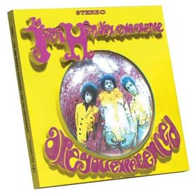 3D Album Cover - Jimi Hendrix (Are you Experienced)
