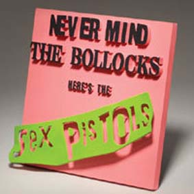 3D Album Cover - Sex Pistols (Never Mind The Bollocks)