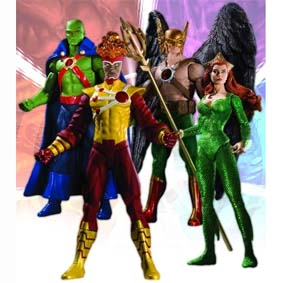 4 Bonecos DC Comics Brightest Day série 2 / DC Direct Brightest Day Series 2