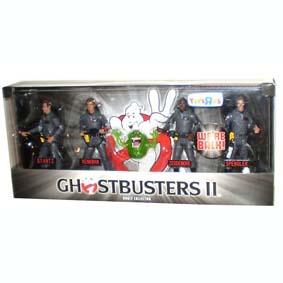 4 Bonecos Ghostbusters II 2 + Slimer
