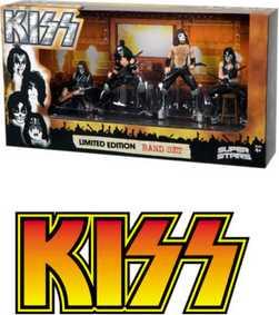 4 Bonecos Mcfarlane Toys Banda Kiss ( Comprar com entrega em todo o Brasil )