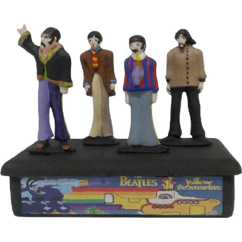 4 Bonecos The Beatles Yellow Submarine Album (Paul + Ringo + John + George)