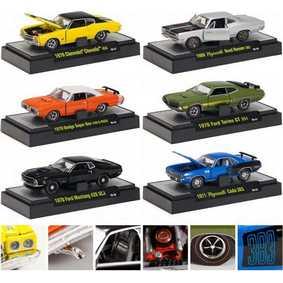 6 Carros Colecionáveis M2 Detroit-Muscle escala 1/64 série 9 R09 31600
