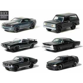 6 Miniaturas da Greenlight Black Bandit série 3  R3 27630 escala 1/64