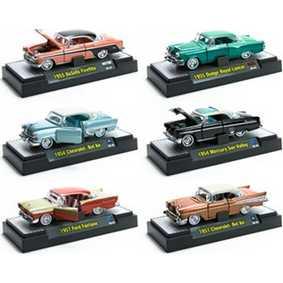6 Miniaturas de Metal M2 Machines escala 1/64 Auto-Thentics série 4B R4B 31500