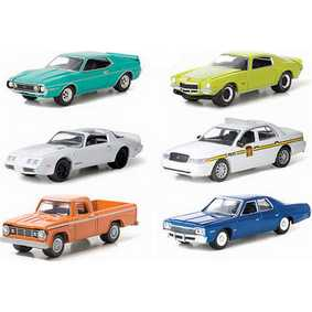 6 Miniaturas Greenlight Collectibles escala 1/64 County Roads série 6 R6 29710
