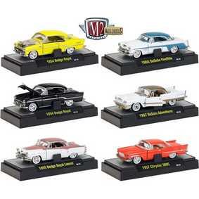 6 Miniaturas M2 Machines Auto-Thentics série 9 R9 31500 escala 1/64