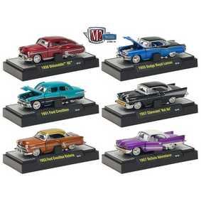 6 Miniaturas M2 Machines escala 1/64 Auto-Thentics série 10 R10 31500