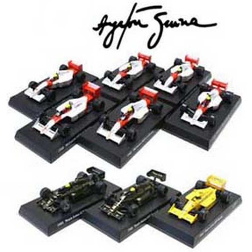 9 Fórmula 1 F1 : Kyosho Ayrton Senna Collection (2013) escala 1/64