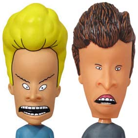 Funko beavis and Butt-Head Bobble Heads wacky wobblers ( COM SOM )
