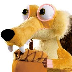 A Era do Gelo 4 Esquilo Scrat - Made in the Ice Age Shivering Scrat