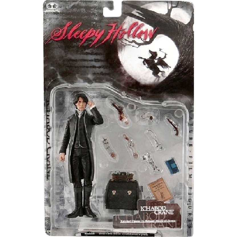 A Lenda do Cavaleiro sem Cabeça (Sleepy Hollow) Ichabod Crane : Johnny Deep Mcfarlane