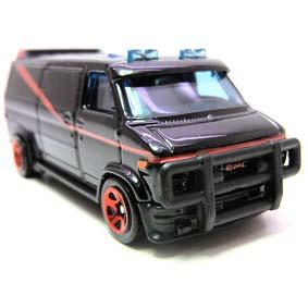 A-Team Hot Wheels Van ( Furgão do BA do seriado Esquadrão Classe A )