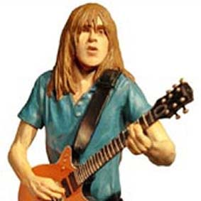 AC/DC Malcolm Young Rock Iconz Statue - Knucklebonz
