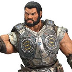 Action Figure do Game Gears of War 3 Dominic Santiago Bonecos Neca Toys Brasil