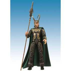 Action Figure Loki Marvel Select boneco articulado do filme Thor