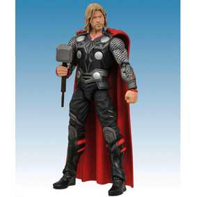 Action Figure Thor Marvel Select boneco articulado do filme Thor