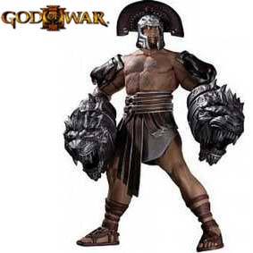 Action Figures God of War 3 Hercules DC Unlimited Bonecos