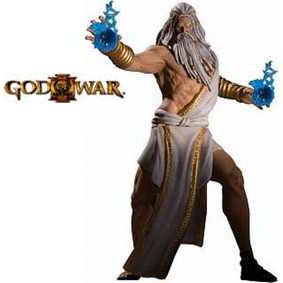 Action Figures God of War 3 Zeus (série 1) DC Unlimited Bonecos