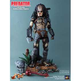 Action Figures Hot Toys no Brasil Boneco Predador Original 1987 ( Classic Predator )