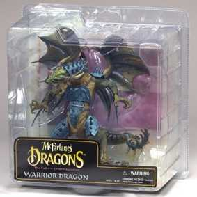 Action Figures Mcfarlane Brasil Dragons série 6 Dragão Warrior Dragon Clan