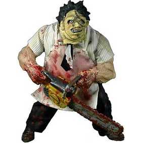 Action Figures Mezco Toys Leatherface Boneco Massacre da Serra Elétrica