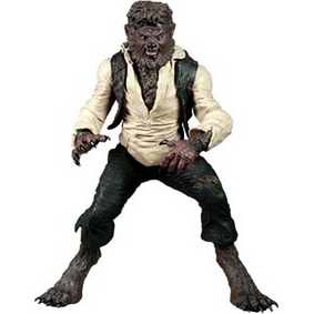 Action Figures Mezco Toys The Wolfman Boneco do Lobisomem