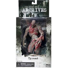 Action Figures Neca Resident Evil Archives série 3 Tyrant (Biohazard)