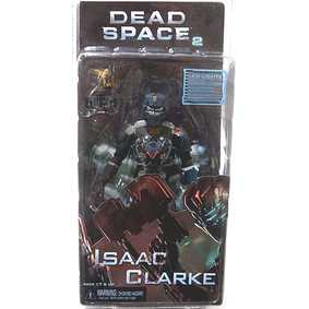 Action Figures Neca Toys Dead Space 2 Isaac Clark com Led na cabeça do boneco