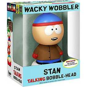 Action Figures South Park Stan com som Bobble Head Funko Toys do Brasil