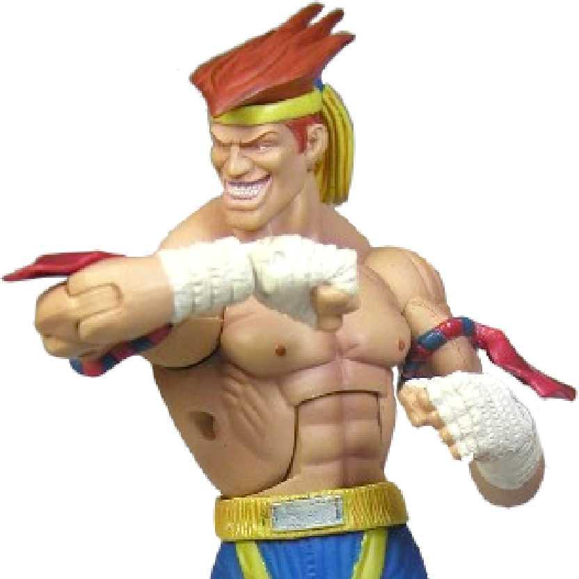 Action Figures Street Fighter Adon série 3 (aberto) Sota Toys